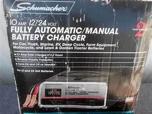 Find Schumacher 12  U0026 24 Volt Deep Cycle Battery Charger