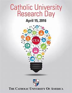 Catholic University's Research Day to Highlight Wide Range ...