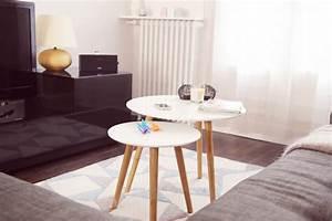 Table Salon Gigogne : mon nouveau salon et c 39 est pas fini les petits riens ~ Dallasstarsshop.com Idées de Décoration
