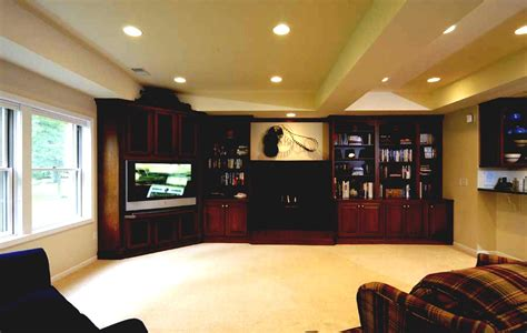 best choice to decorate unfinished basement with cool