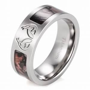 Beautiful Cheap Camo Wedding Rings For Men