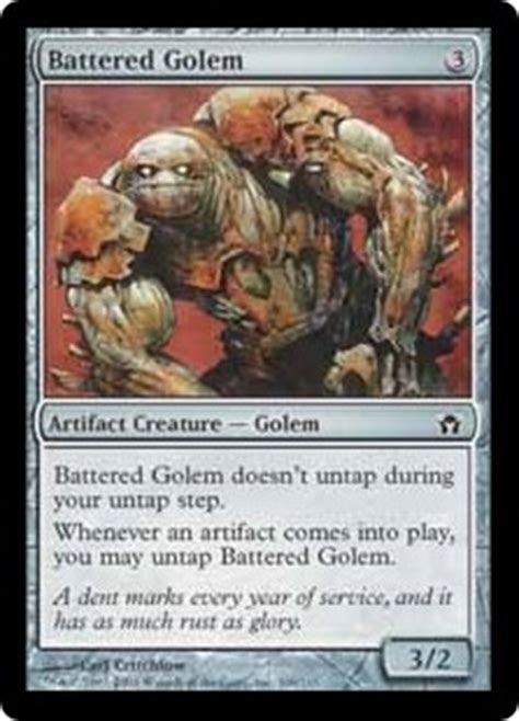 mtg golem token deck no rares all modern combo magic the gathering