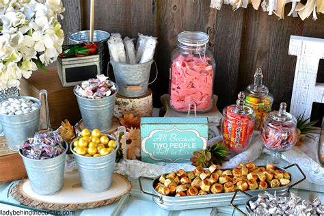 Rustic Wedding Buffet Table Image Collections Table