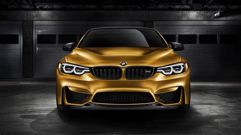 bmw  gts sunburstgold   wallpaper hd car