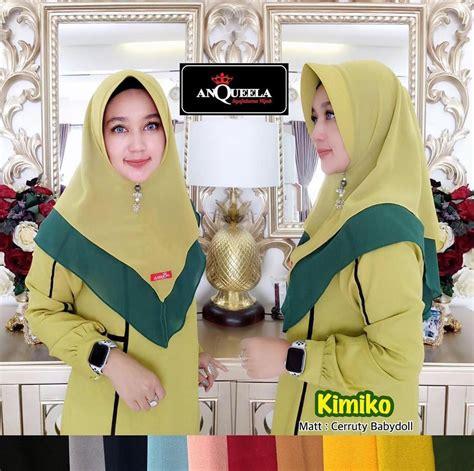 hijab kimiko anqueela sentral grosir jilbab  produsen jilbab  grosir jilbab terbaru  grosir