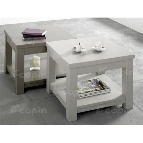 table basse carr 233 en pin quot volda 1 quot ecopin meubles en pin
