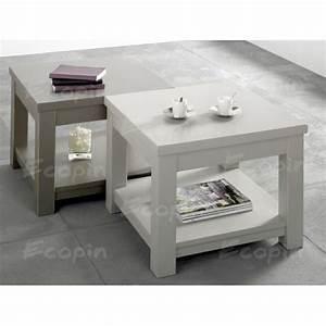 Table Basse Pin : table basse carr en pin volda 1 ecopin meubles en pin ~ Teatrodelosmanantiales.com Idées de Décoration