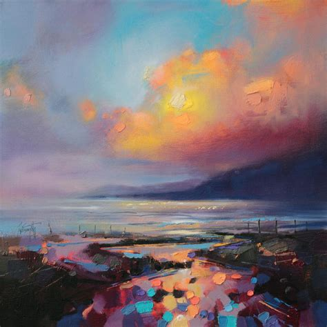 vibrant paintings of scottish landscapes by naismith colossal