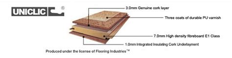 cork flooring thickness forna cork flooring specifications icork floor