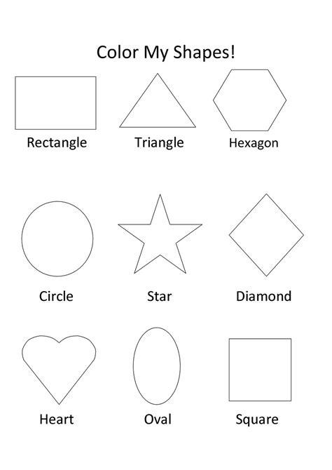 shapes worksheets  kids activity shelter