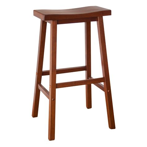 2x scurve pu leather wood bar stool in wooden bar stool oak backless bar stools swivel bar