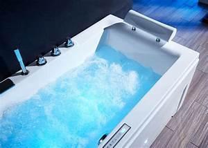 Baignoire Pour Deux : baignoire balneo rectangulaire pour deux personnes islande ~ Premium-room.com Idées de Décoration