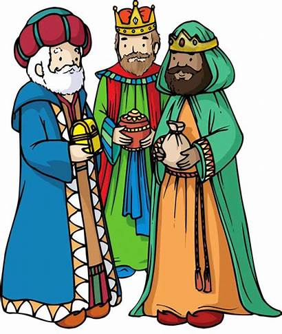 Nativity Clipart Magi Transparent Christmas Three Jesus
