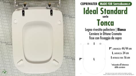 wc ideal standard toilet seat sintesibagno made for ideal standard wc tonca