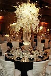87+ Black And White Wedding Flower Centerpieces - Black