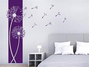 Wie Dekoriere Ich Mein Schlafzimmer : wandtattoo banner pusteblumen wandbanner wandtattoo de ~ Michelbontemps.com Haus und Dekorationen