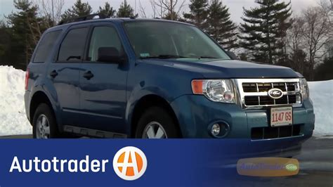 ford escape suv  car review autotrader youtube