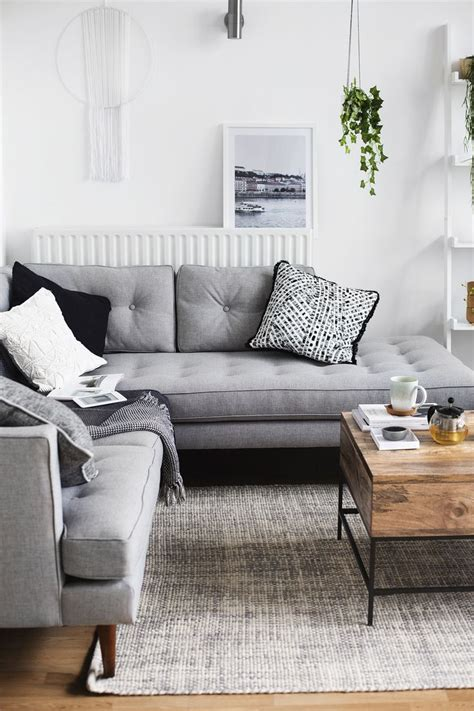 gray sofa living room decor grey sofa decor best living room decorating ideas grey