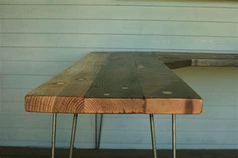 reclaimed wood corner desk arbor exchange reclaimed wood furniture corner desk