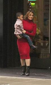 50 Cent's baby mama steps out with her cute son in New York