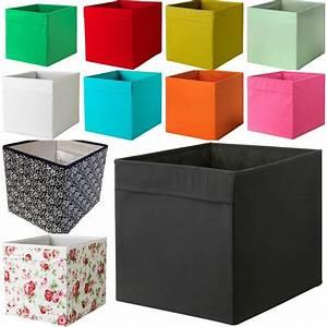 Ikea Box Kallax : new ikea drona fabric storage box basket for expedit kallax shelf unit bookcase kallax shelf ~ Orissabook.com Haus und Dekorationen