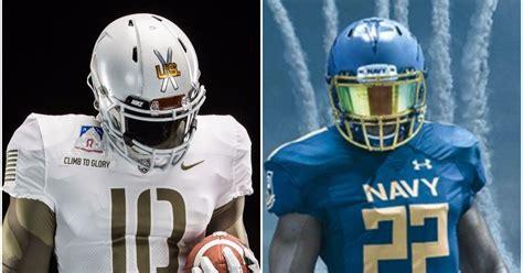 army  navy uniforms  year rivals alternates