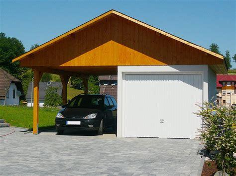 Carport Neben Garage by Carport Garagen Newgarden