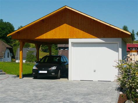 Carport + Garagen Newgarden