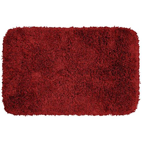 garland rug jazz chili pepper red      washable bathroom accent rug ben