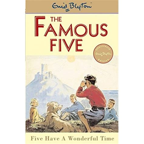 Five Have A Wonderful Time (famous Five)  English Wooks