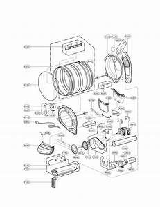Lg Model Dle4970w Residential Dryer Genuine Parts