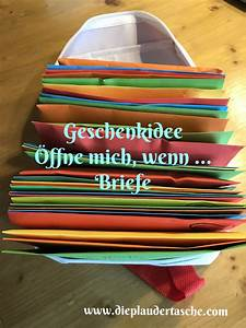 Persönliches Geschenk Jahrestag : diy ffne mich wenn briefe geschenkideen pinterest geschenke diy geschenke und ~ Frokenaadalensverden.com Haus und Dekorationen