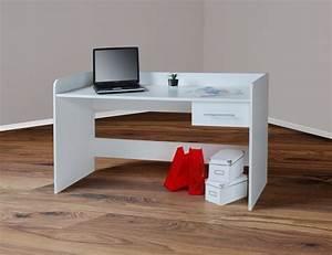 Schreibtisch Höhenverstellbar Weiß : schreibtisch computertisch h henverstellbar 116cm wei m bel ~ Markanthonyermac.com Haus und Dekorationen