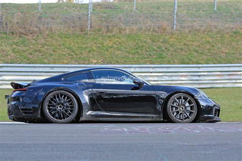 New 2019 Porsche 911 Makes Nurburgring Debut, Prototype