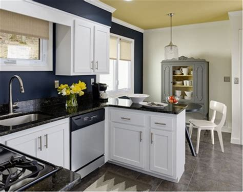 kitchen cabinets with blue walls c b i d home decor and design accent walls 9510