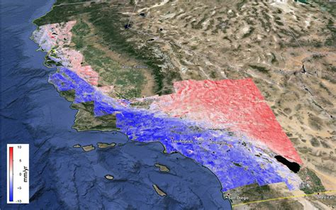 slip rates   san andreas fault system science unavco