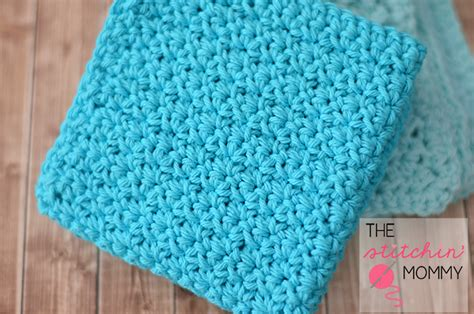 crochet washcloth instructions easy textured washcloths two free patterns the stitchin