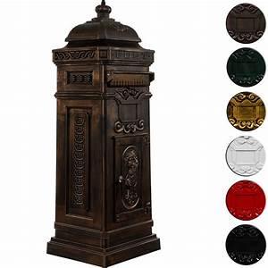 Briefkasten Holz Antik : s ulenbriefkasten postkasten antik bronze real ~ Sanjose-hotels-ca.com Haus und Dekorationen