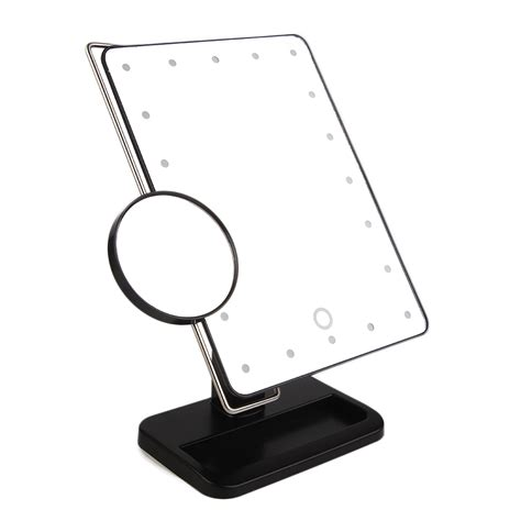 best lighted makeup mirror best lighted makeup mirror magnifying with light 10x