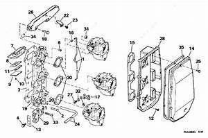 Evinrude 1995 60 - E60tleoc  Intake Manifold