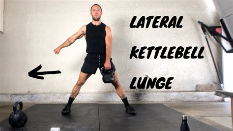 kettlebell complex lateral lunge