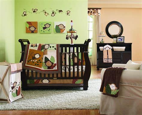 Sock Monkey Musical Crib Mobile