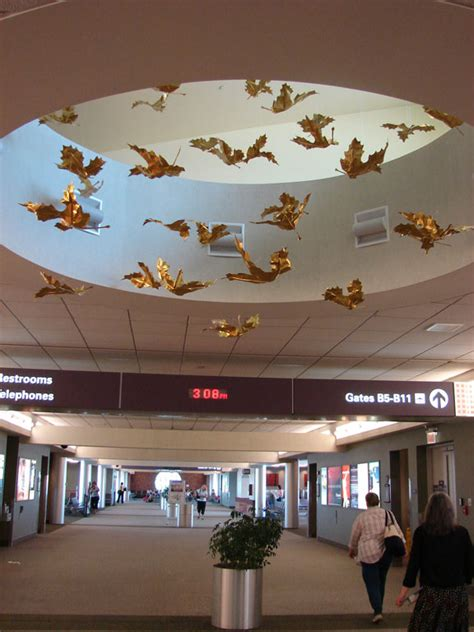 airport art inspires marriage proposal stuck   airport