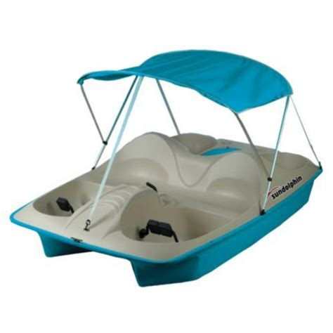 Sun Dolphin Paddle Boat Tractor Supply sun dolphin 5 person pedal boat with canopy tractor