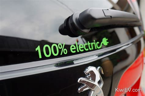100% Electric Car Stickers