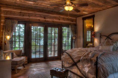 tapis chambre à coucher des chambres au décor rustique pour bien dormir la nuit