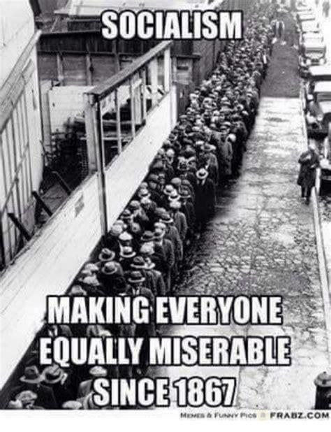 Socialism Memes - socialism making everyone equally miserable sincenbgt frabz com equalizer meme on sizzle