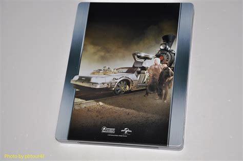 Back to the Future Part III (Blu-ray SteelBook) (Zavvi ...