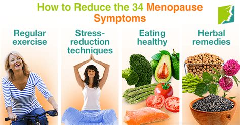 How to Reduce the 34 Menopause Symptoms | Menopause Now