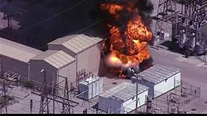 Kansas City Live Power And Light Transformer On Fire At Kcpl 39 S Hawthorn Power Plant